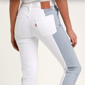 BRAND NEW WITH TAG Levi Jeans: Color Block